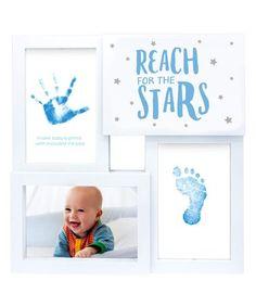 Blue 'Reach for the Stars' Collage Frame #zulily #zulilyfinds