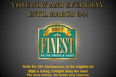 It's that time of the year again!  Time to vote SJP Network Solutions as Finest on the Emerald Coast for IT Services and Web Developer!  You can vote 1x daily from each email address you have access to ;)  And don't forget to check out our Free Wi-Fi in Downtown Ft Walton Beach.  Stage 1 has been completed!  http://ift.tt/2lQVE1W - http://ift.tt/1HQJd81