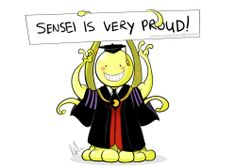 Koro Sensei from Assassination Classroom. Anime Boys, Manga Anime, I Love Anime, Awesome Anime, Manga Comics, Cool Animes, Karma X Nagisa, Videos Anime, Tsurezure Children