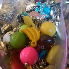 Sorting #beads today. #colors #shiny #crafty