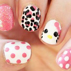 26 Best Hello Kitty Nail Designs Images On Pinterest Hello Kitty
