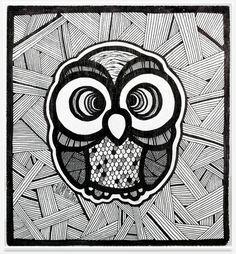 TRUST THE 01WL by the owl    - hochwertiger UV-beständiger Leinwanddruck  - in Handarbeit von Profis in Österreich gefertigt  - auf Keilrahmen aufgespannt