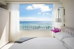 It's gonna be hard to get out of bed with a view like this.