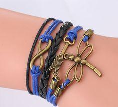 Fashion Love Women Colorful Wrap Jewelry  Friendship Woven Bangle Bracelet Retr #Unbranded #Bangle #CocktailWeddingEngagementAnniversary