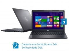 Notebook Dell Vostro V14T-5470-A60 Intel Core i7 - 8GB 500GB Windows LED Touch 14 Placa de Vídeo 2GB