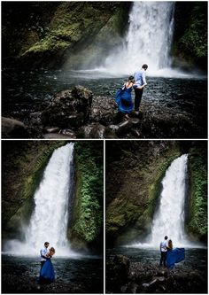 38 Super Ideas For Bridal Shoot Waterfall Engagement Pictures, Engagement Shoots, Wedding Pictures, Bridal Shoot, Wedding Shoot, Wedding Ideas, Small Intimate Wedding, Intimate Weddings, Cool Pictures Of Nature