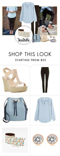 """""""How to wear leggings"""" by kuhfsbyamyolson ❤ liked on Polyvore featuring Dune, Phase Eight, INC International Concepts, Velvet, Michael Kors and Lonna & Lilly"""