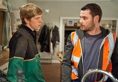 Tuesday 7 July Aaron is initially uneasy when Robert offers to help them on the farm.