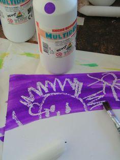 19_TECHNIQUES ASTUCES_bougie+encres (8) Projects For Kids, Diy For Kids, Art Projects, Paint Bar, Kindergarten, Make Color, Preschool Art, Art Plastique, Summer Activities
