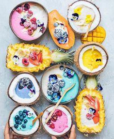 Banana smoothie with blender - Clean Eating Snacks Cute Food, Yummy Food, Healthy Food, Vegan Food, Healthy Cafe, Delicious Snacks, Breakfast Healthy, Dinner Healthy, Breakfast Smoothies