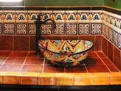 showing 6 of 15 photos about mexican ethnicstyle for bathroom tile decoration explore complete collection of 15 photos here