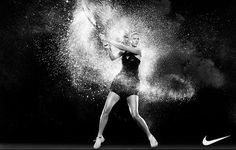 Maria Sharapova in another one of Nike's great ads!
