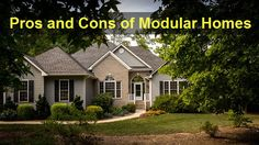 Pros and Cons of Modular Homes - Go for a modular #home only if you fully understand the quality benefits of #ModularHomes and are ready to bear its cons.| PropertyCluster.com Blog