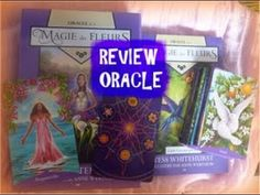 REVIEW L'ORACLE  DE LA MAGIE DES FLEURS (de Tess Whitehurst,‎ Anne Wertheim ) - YouTube