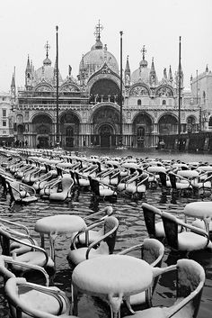 Snow & High Water in Piazza San Marco@Pierpaolo