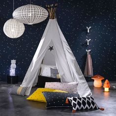 1000 images about tipi et tente enfant on pinterest teepees tent and teepee tent. Black Bedroom Furniture Sets. Home Design Ideas