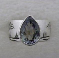 Custom ring. Sterlin