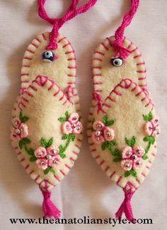 christmas felt decoration - elvanfigen - Blogcu.com