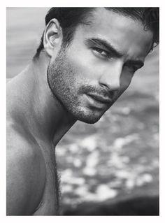 Men...oh, my!  Sean Biloski /Male Model /sexy /hot guy/ eyes /face /Handsome