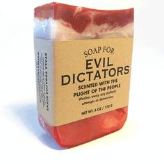 Or dictator wannabes. If you want to be the supreme leader of anything, you're going to need your own army. And soap. And of course it'll be the color of your enemy's blood. Which is red, fyi, unless