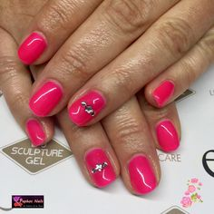 #brightpink to brighten up #february #luminouswatermelonsorbet #biosculpturegel #biosculpturebytheresa #paphosnails #biocyprus #bionails #choosehealth