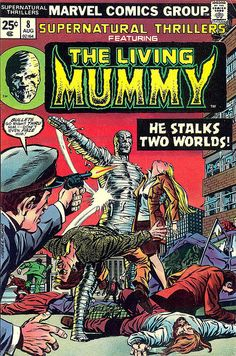 Supernatural Thrillers #8 - The Living Mummy by Jim Barker, via Flickr