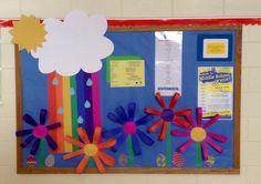 March/ spring Bulletin board
