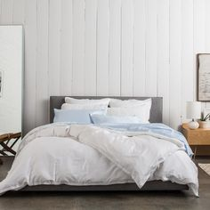 Sateen 3-Piece Duvet Set