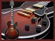 The Heritage Roy Clark Signature guitar.