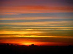 Sunset in Cambodia, Natures Artwork!