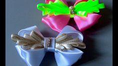 Novo modelo de laço para todas as ocasiões  DIY - TUTORIAL  - Ribbon for...