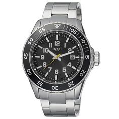 Esprit Mens Watch Varic ES103631005 Silver Black
