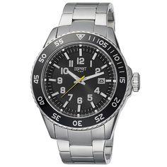 Esprit Mens Watch Varic ES103631005 Silver Black