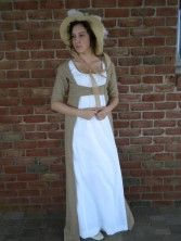 Susanne's Regency Gown with Open Robe