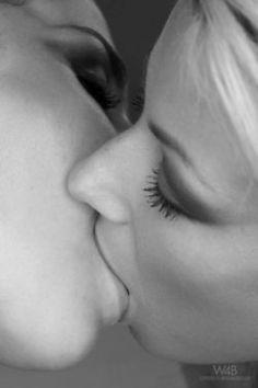 wet pinterest xxx on Kissing lesbians