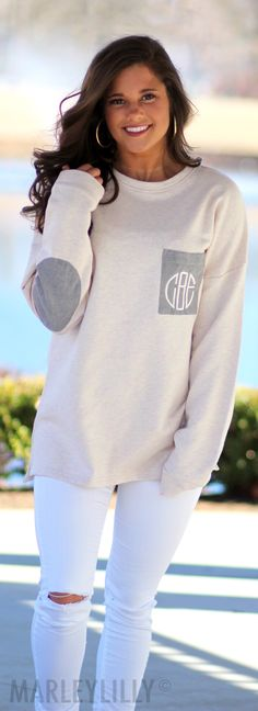 This Monogrammed Preppy Patch Tunic is ON SALE! Shop this best-seller now!