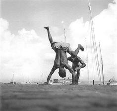 Capoeira, Salvador, Brasil, 1946