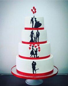 Wedding Cake  by elisabethcake  - http://cakesdecor.com/cakes/278945-wedding-cake
