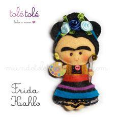 Frida Kahlo by Tolé Tolé, via Flickr