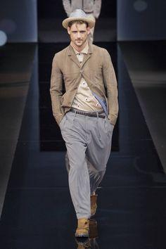 Male Fashion Trends: Giorgio Armani Spring-Summer 2017 - Milan Fashion Week #MFW