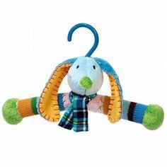 Baby kleerhanger blauw jongen Happy Horse