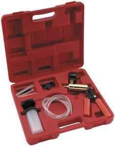 BikeMaster Deluxe Vacuum Testing Brake Bleeding Kit 05-3585  #BikeMaster #Automotive_Parts_and_Accessories