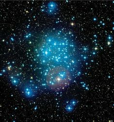 The Light That Burns Twice as Bright - Massive blue young stars fill the young cluster Messier 50, which has freed itself from the gas of its nascent molecular clouds.
