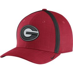 Nike Men s Georgia Bulldogs Red AeroBill Football Sideline Coaches  Classic99 Hat 6354f58dc98