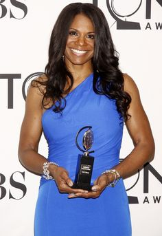 Audra McDonald, 2012 Tony Win for Best Actress in a Musical for The Gershwins' Porgy and Bess. Beautiful Goddess, Black Is Beautiful, Black Celebrities, Celebs, Shirley Booth, Tony Award Winners, Angela Lansbury, Film Awards, Best Actress