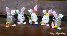 Skarby Magielnicy : Wielkanocne inspiracje - kolorowe zające Namaste, Illustration Art, Handmade, Crafts, Diy, Easter Activities, Hand Made, Manualidades, Bricolage