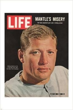 LIFE MAGAZINE magazine cover poster july 1965 MICKEY MANTLE new rare 24X36 Brand New. 24x36 inches. Will ship in a tube. - Multiple item purchases are combined the next day and get a discount for dome