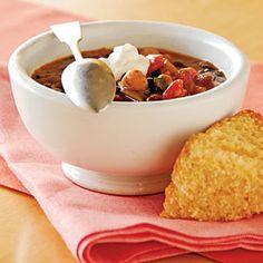 Superfast Vegetarian Recipes   Three-Bean Chili   CookingLight.com