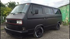 Murdered out VW Vanagon
