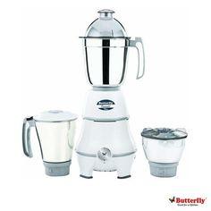 Butterfly Mixer grinders: Buy Butterfly Emerald Value 3 Storage Jar Mixer Grinder 1 HP Online | Oyekitchen.com